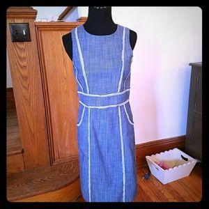 Beautiful, never worn, blue dress